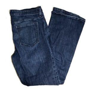 GAP Size 14/32 Jeans Dark Wash Boot Cut